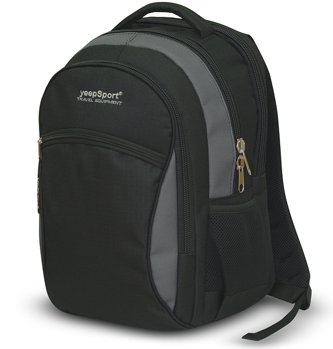 medium school backpack #107 S94 grey