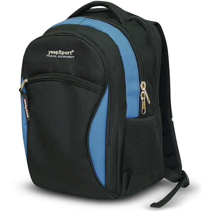 medium school backpack #109 S94 blue