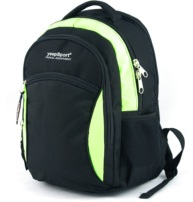 medium school backpack #110 S94 green
