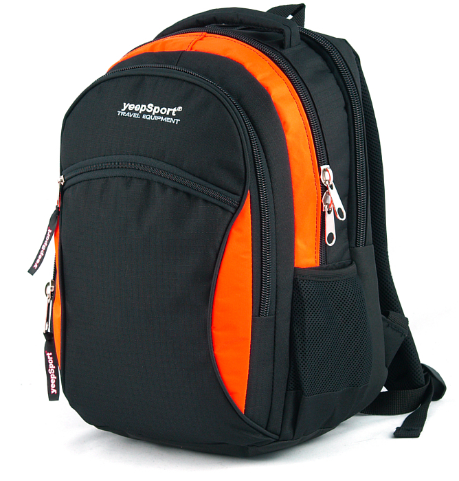 medium school backpack #111 S94 orange