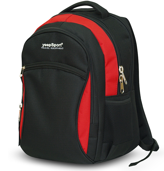 medium school backpack #112 S94 red