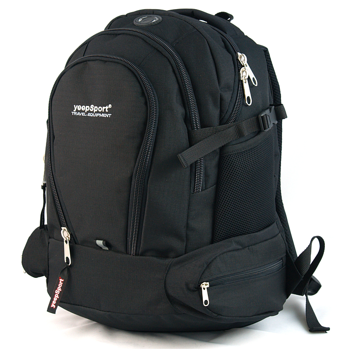 large school backpack #117 S78 black