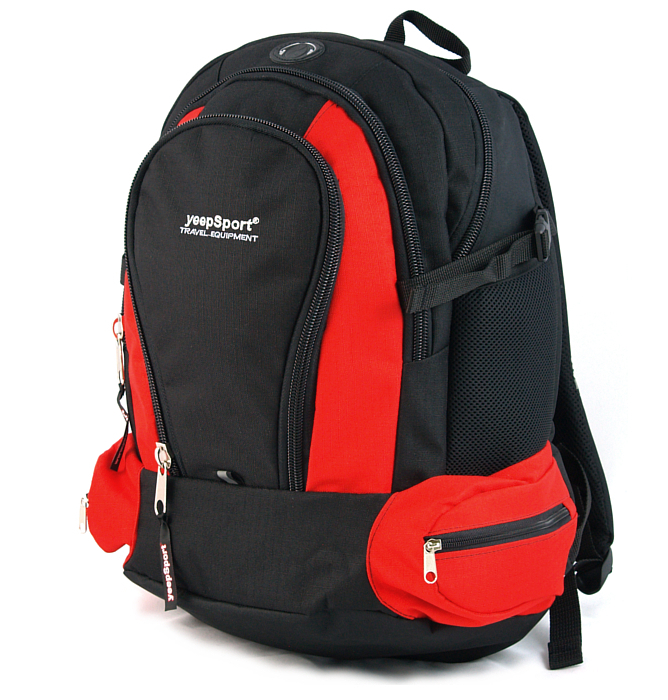 large school backpack #120 S78 red