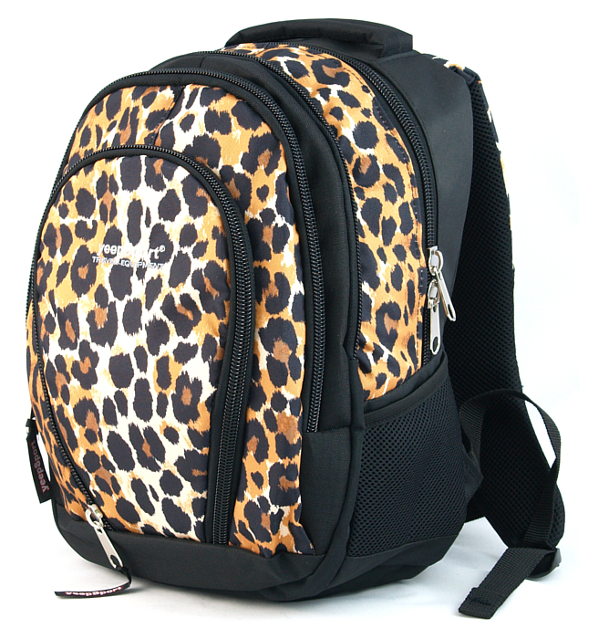 medium school backpack #37 S113dx leopard