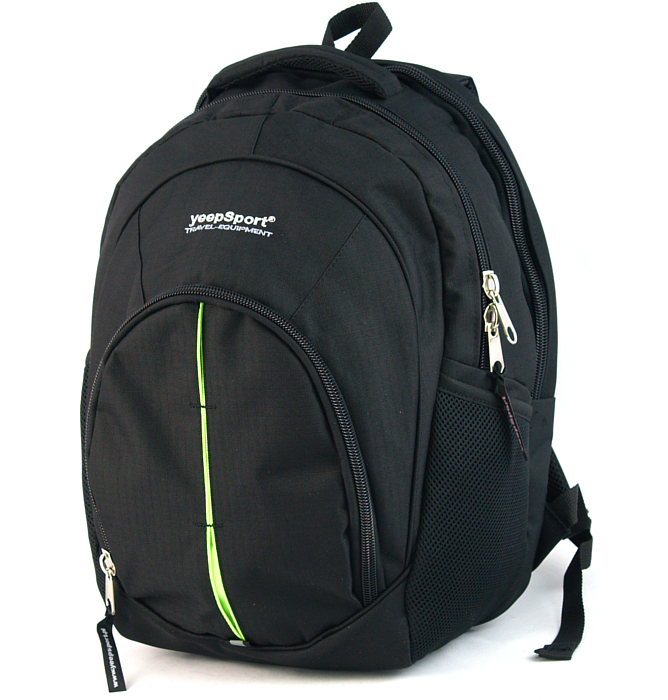 large school backpack #43 S112 green