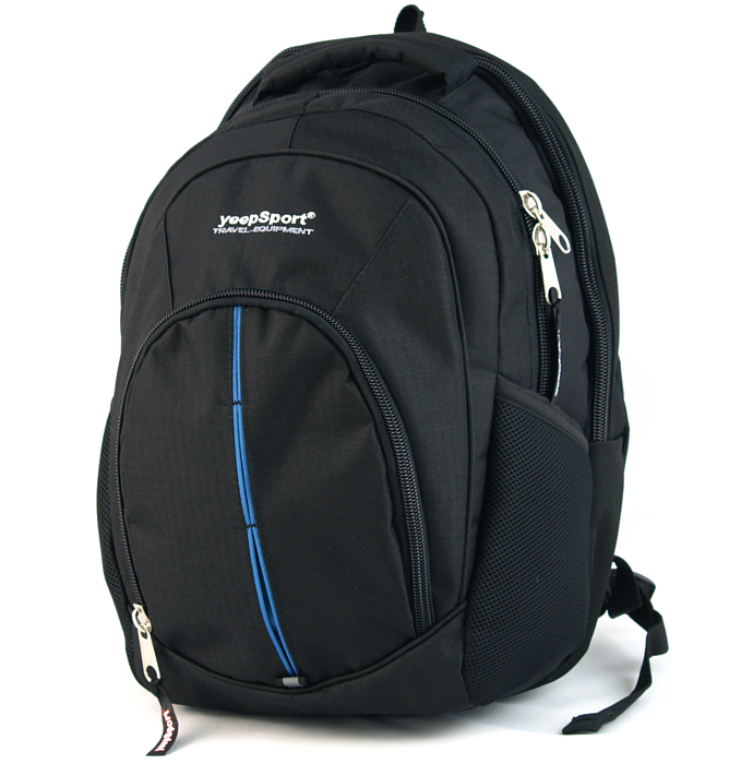 large school backpack #45 S112 blue