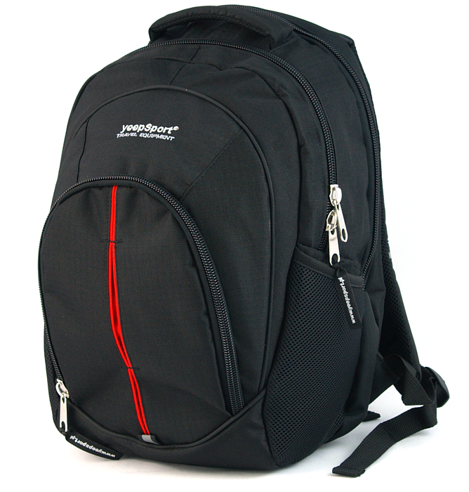large school backpack #46 S112 red