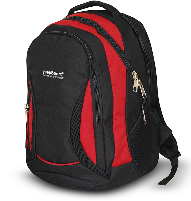 large school backpack #49 S106 red