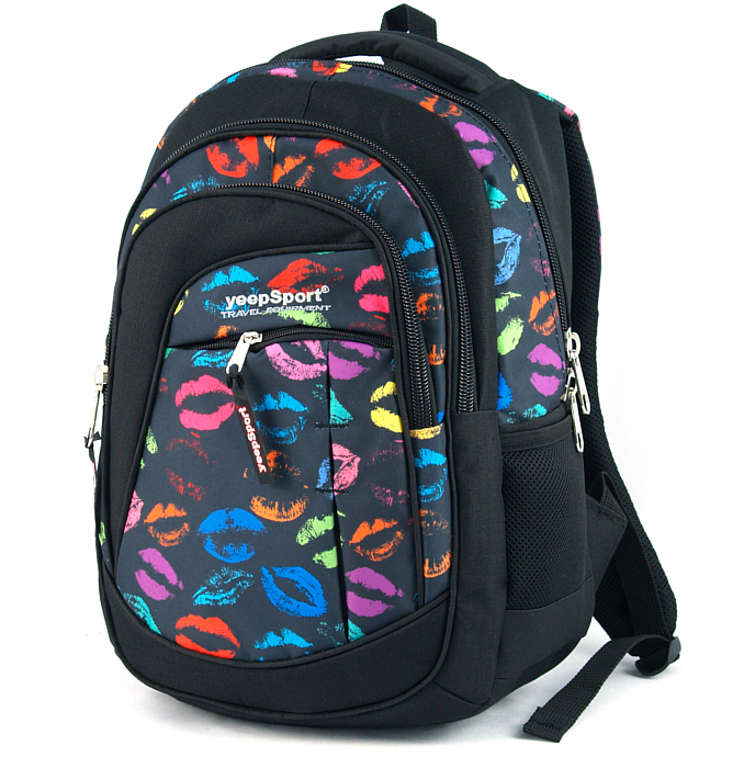 medium school backpack #72 S103dx kisses