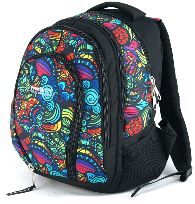 medium school backpack #312 S113dx mandala