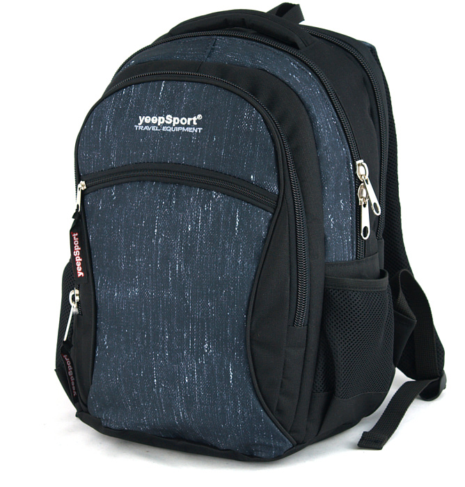 medium school backpack #338 S94dx jeans blue