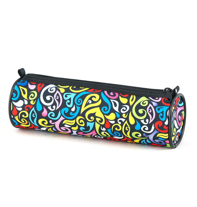 tube-shaped pencil case #348 T2 crazy yellow