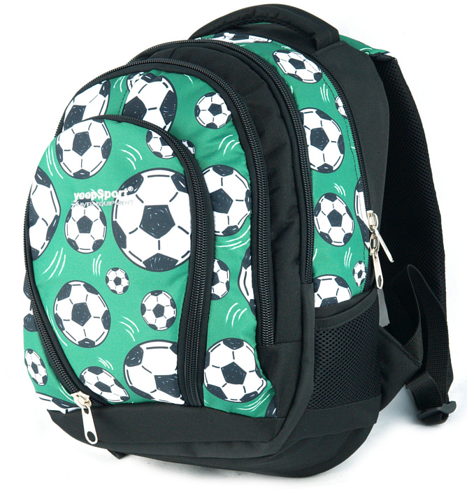 medium school backpack #481 S113dx soccer green