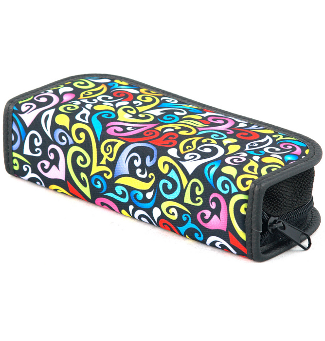 rectangle-shaped pencil case #411 T2a crazy yellow