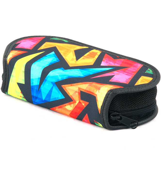 section divided pencil case #418 T2b flash
