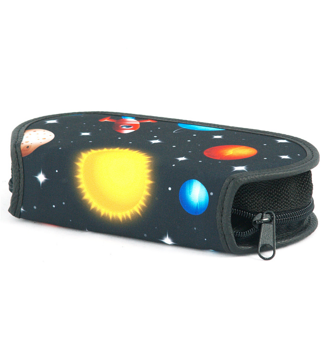 section divided pencil case #517 T2b universe