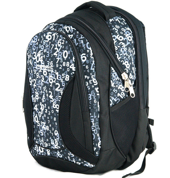 large school backpack #553 S106dx mathematic