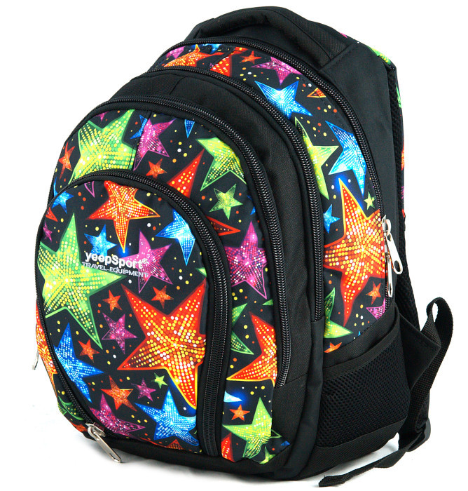 medium school backpack #559 S113dx stars