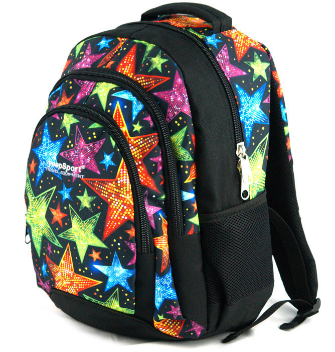 medium school backpack #563 S114dx stars