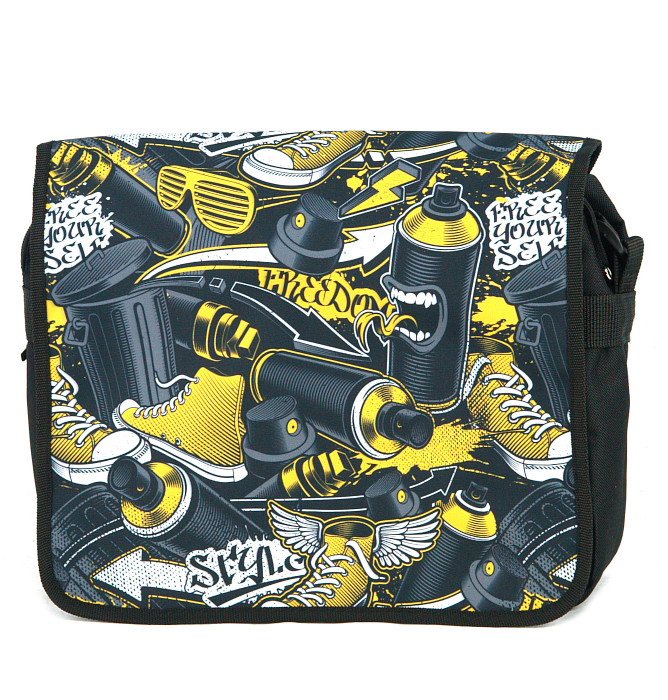 #578 T10dx graffiti yellow stylez