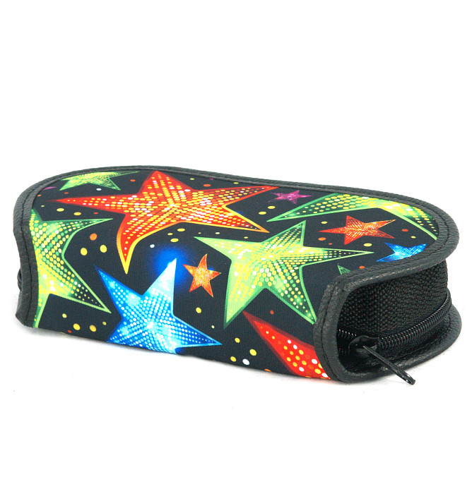 section divided pencil case #593 T2b stars