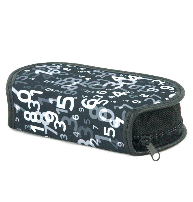 section divided pencil case #595 T2b mathematic