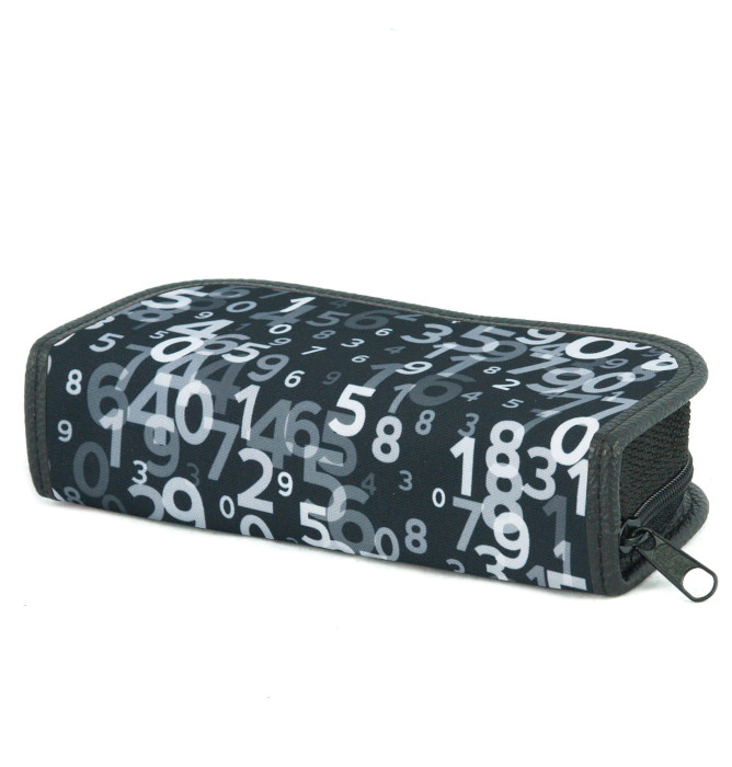 rectangle-shaped pencil case #601 T2a mathematic