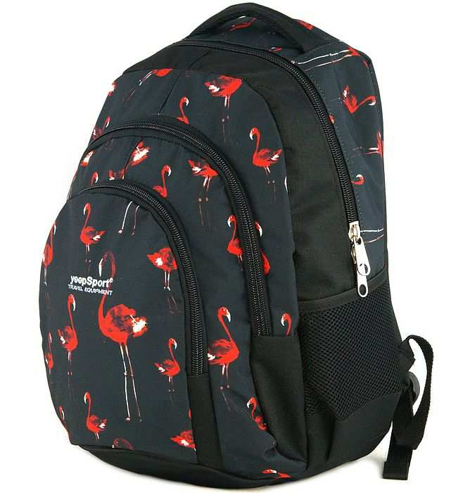 large school backpack #613 S119dx flamingo